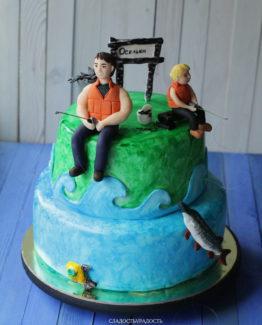 торт рыбаки