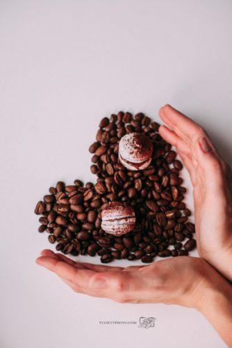 кофейные макаронс