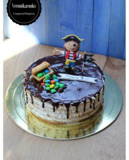 торт пират