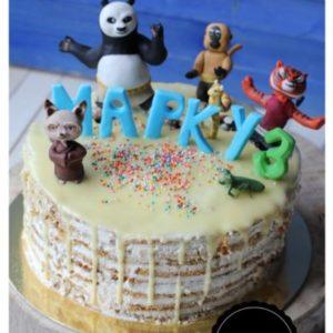 Торт кунг фу панда