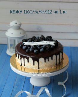 Диетический творожный торт