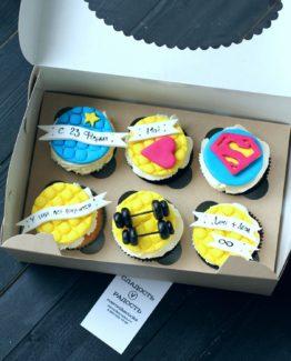 капкейки супермен