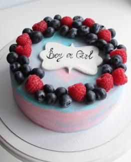 Торт пол ребенка