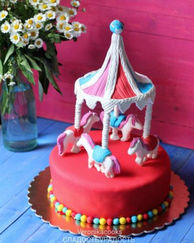 торт веселая карусель в спб на заказ