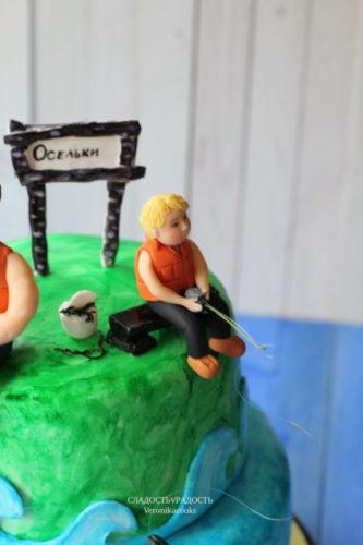 торт мужу и сыну