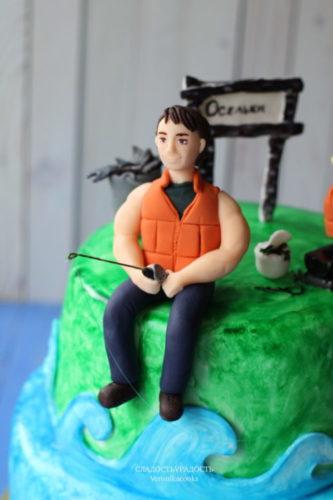 торт отец и сын