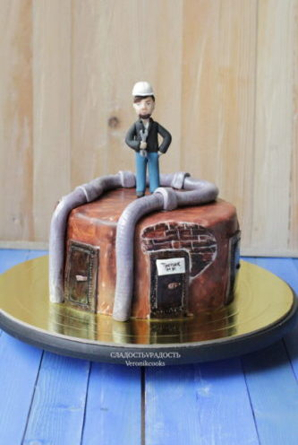 торт главному инженеру