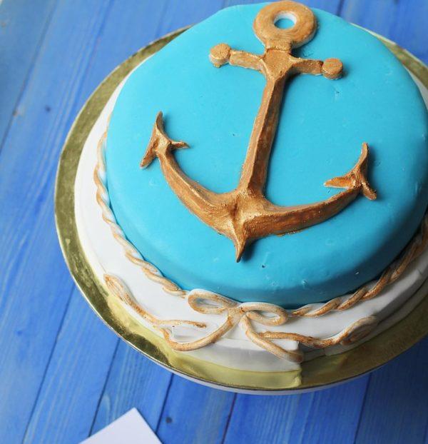 торт моряку