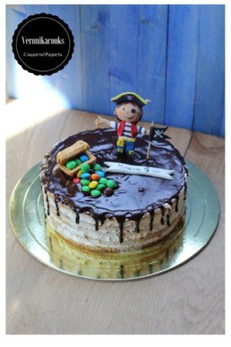 торт пират заказать торт на день рождения сыну