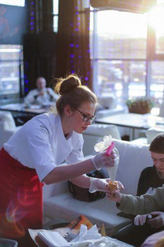 детский кулинарный мастер класс veronikacooks в ресторане