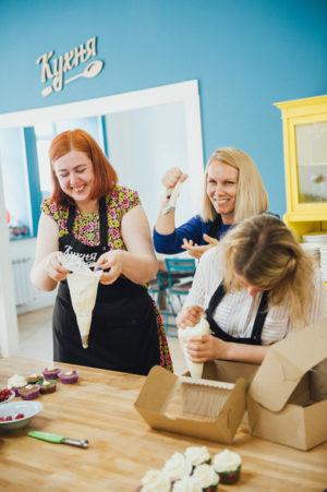 кулинарный девичник в кулинарной студии 12 августа