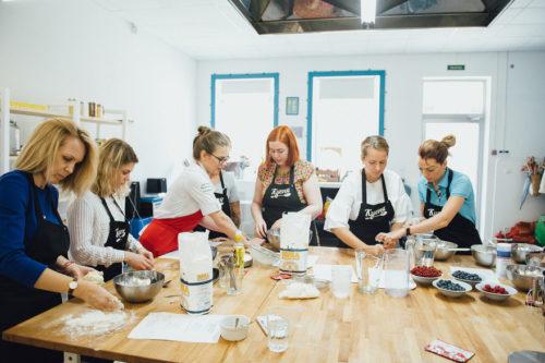 кулинарные курсы спб для начинающих Veronikacooks