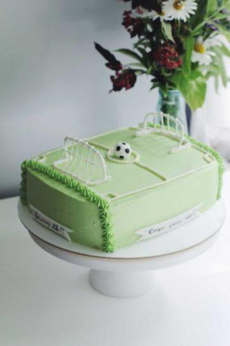 торт футбольное поле с мячом на заказ в санкт-петербурге с доставкой
