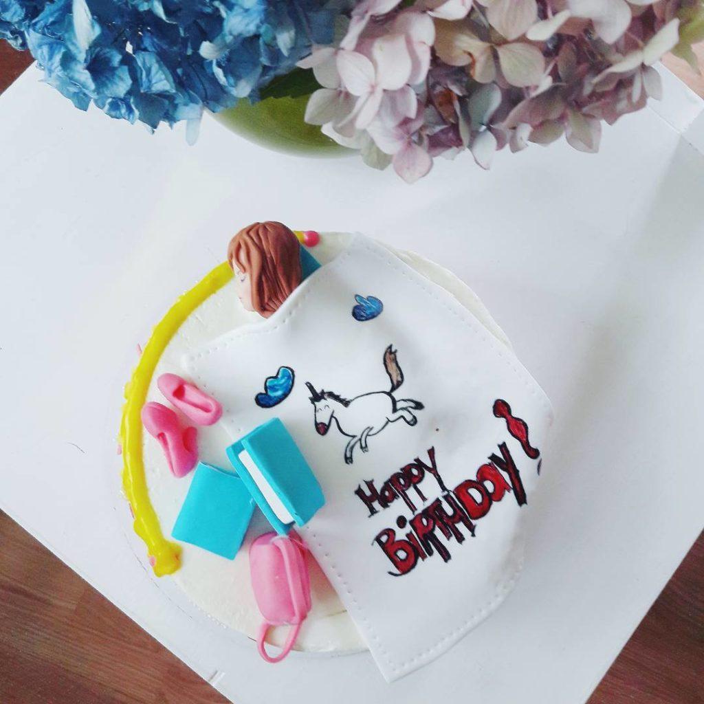 торт с единорогом для девочки