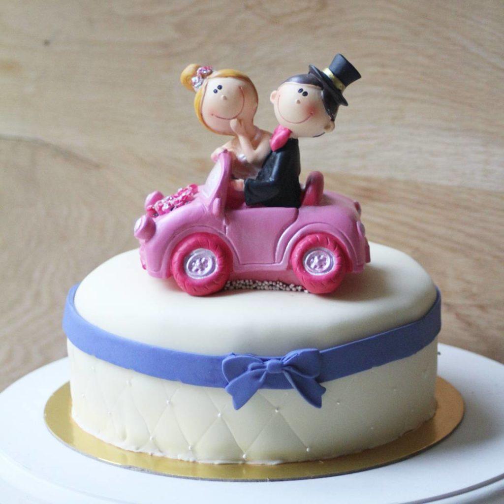 торт для молодоженов