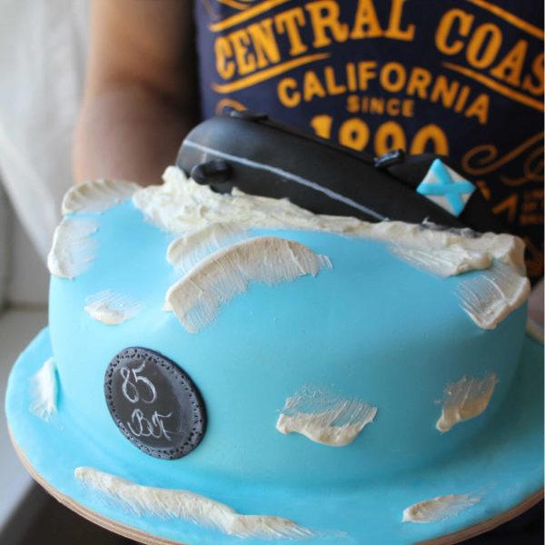 Торт подводная лодка