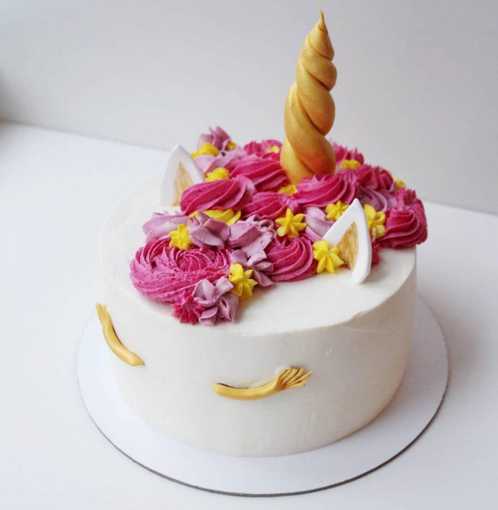 торт единорог для девочки на заказ в спб