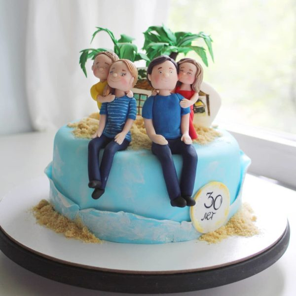 торт на 30 лет мужчине