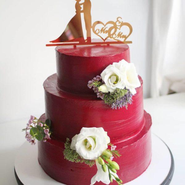 свадебный торт марсала на заказ в спб