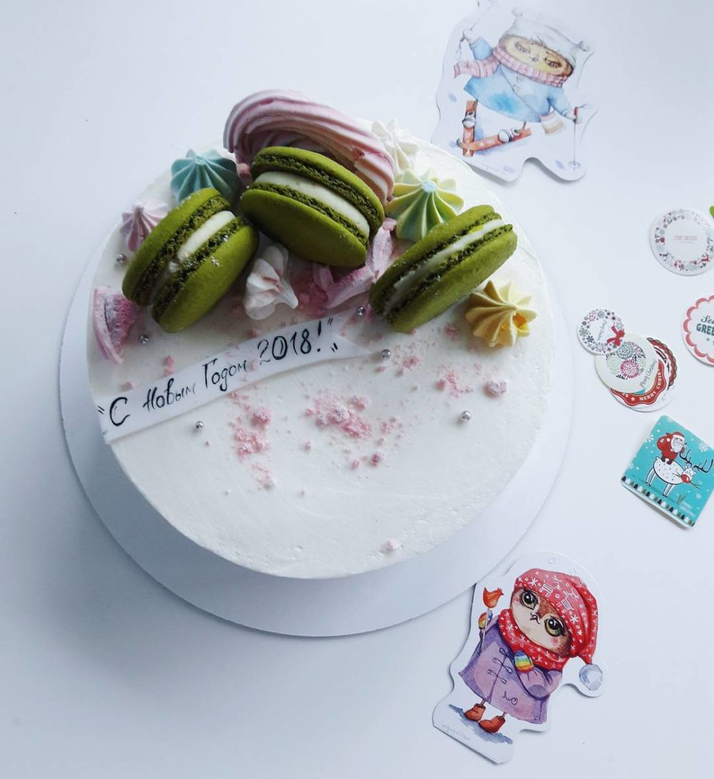 торт на новый год без мастики на заказ в спб