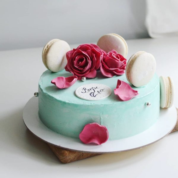 торт с розами на заказ в спб