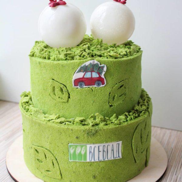новогодний корпоративный торт