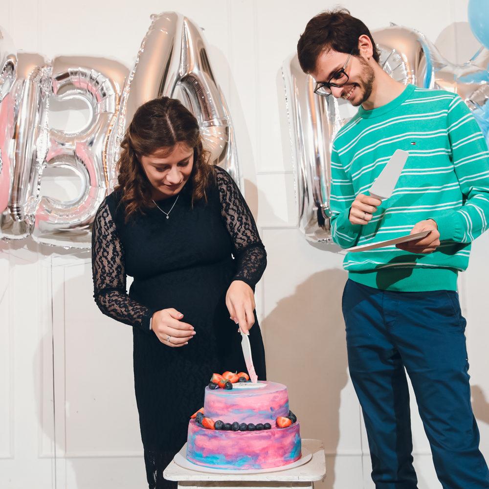 торт на baby shower