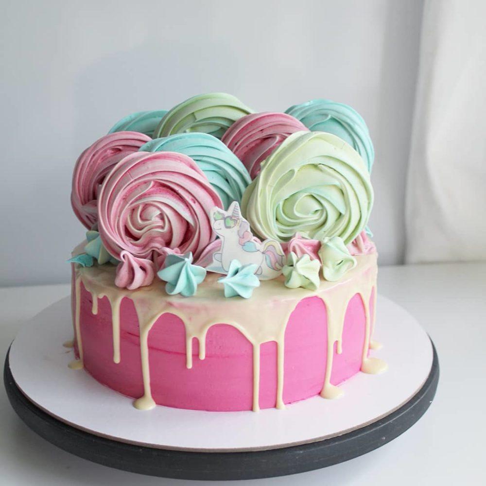 пастельный торт