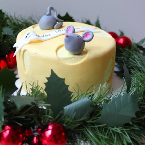 торт на год мыши