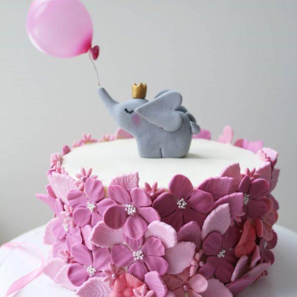 торт со слоном