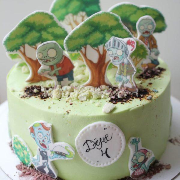 торт зомби