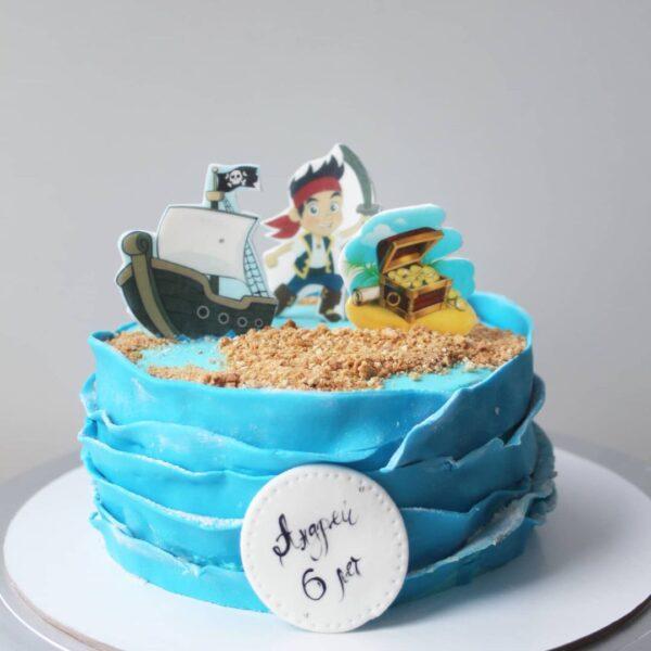 торт пират карибского моря