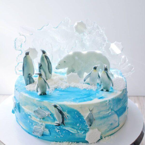 торт антарктида